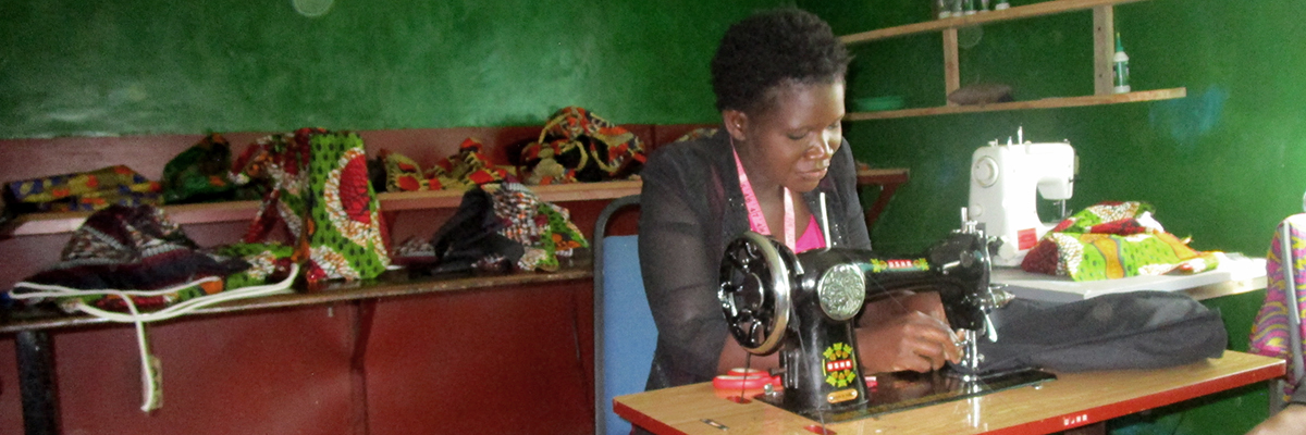 A Taste of Malawi tailor sewing