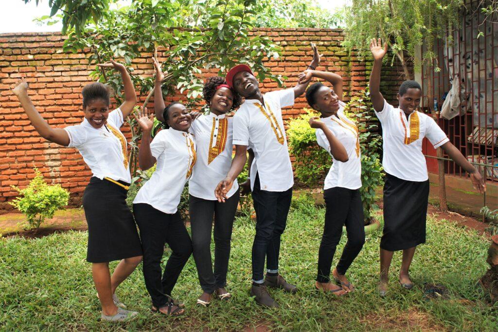 Gruppenfoto des On-site-Teams von Taste of Malawi